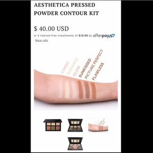 Aesthetica Makeup - 💖 Aesthetica Pressed Powder Contour Kit